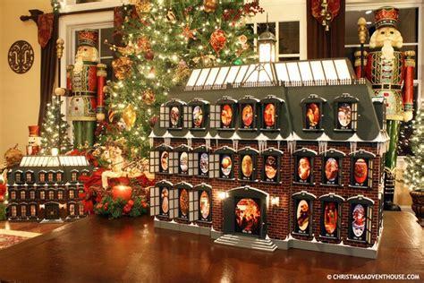 christmas advent house      christmas