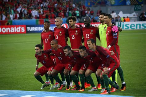 Portugal Football Soccer Team World Cup 2018
