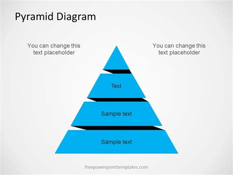 pyramid diagram  powerpoint   levels