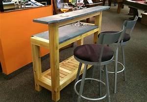 Bar Exterieur Bois : meuble de bar ext rieur en c dre blanc ogni ~ Teatrodelosmanantiales.com Idées de Décoration