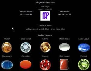 Find Your Birth Chart Virgo Birthstones September Virgo Birthstone