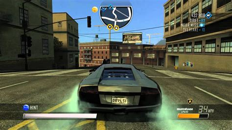 Driver San Francisco Lamborghini Murcielago Lp640 Gameplay