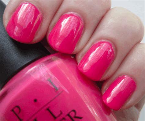 opi strawberry margarita  hot pink nail polish ebay