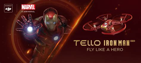 dji tello quadcopter iron man edition beginner drone vr hd video premium bundle beachcameracom