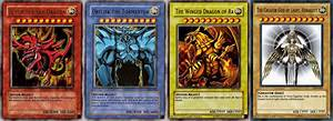 God cards, God cards everywhere : yugioh