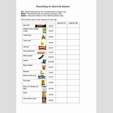 Rounding To The Nearest Whole And 1 Decimal Place By Whistleandsums  Teaching Resources Tes