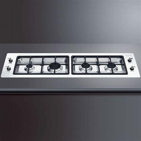 piano cottura filo top piano cottura a gas smeg pdxf116rs filo top 116 cm inox ebay