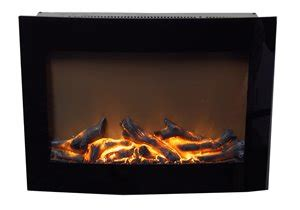 flamelux decorative electric fireplace sligo rona