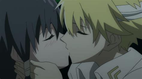 anime btooom kiss صور قبلات حب انمي رومانسي kiss love anime صور حب