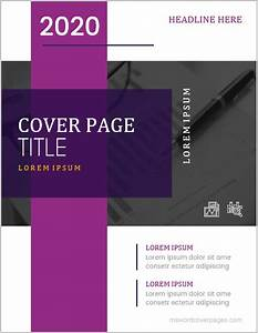 Microsoft Word Cover Page Template 5 Best Professional Cover Page Templates For Ms Word Ms