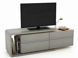Meuble Laqué Beige : meuble tv caporal coloris beige conforama pickture ~ Premium-room.com Idées de Décoration