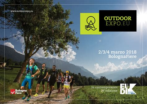 Outdoor Expo 2018 Sarà A Bolognafiere 4actionsport