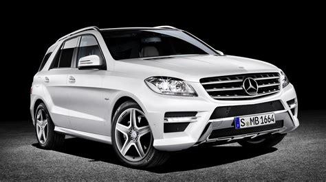 2012 White Mercedes Benz Edition1 Ml350 Front 3q