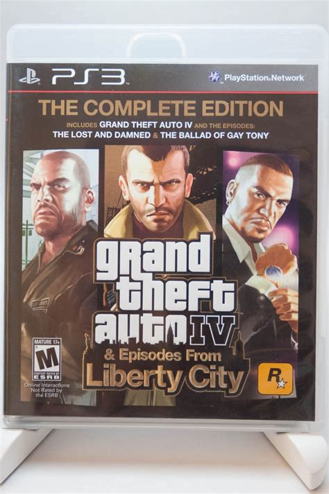 grand theft auto iv complete edition ps playstation gta