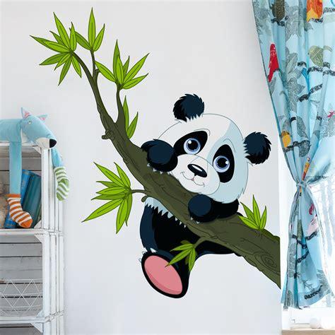 Wandtattoos Fürs Kinderzimmer by Wandtattoo Kinderzimmer Kletternder Panda