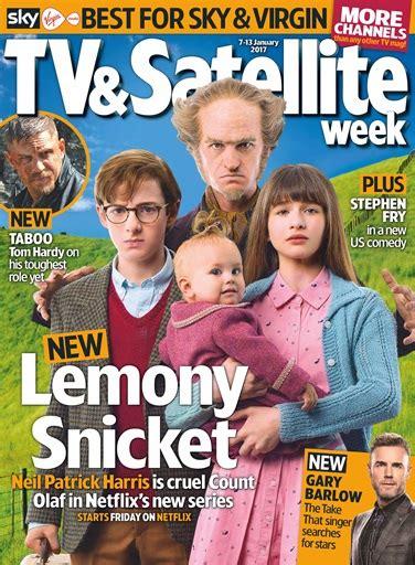 tv magazine gratuit tv satellite week magazine 7th january 2017 subscriptions pocketmags