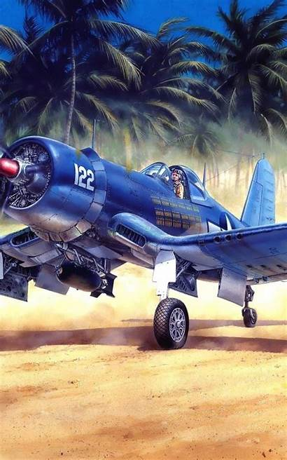 Corsair Vought F4u Aircraft Android Mobile
