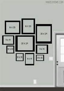 Wall Gallery Frame Layout