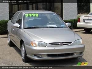 Pewter - 2000 Kia Sephia