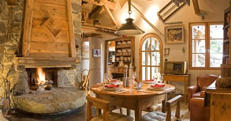 Hotel Avec Cheminee by Chalet Les Trolles Location Chalet Luxe Spa Privatif Chemin 233 E