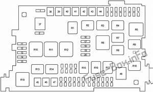 Fuse Box Diagram Toyota 4runner  N210  2003