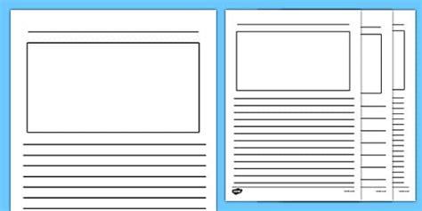writing frames ks blank writing frames writing