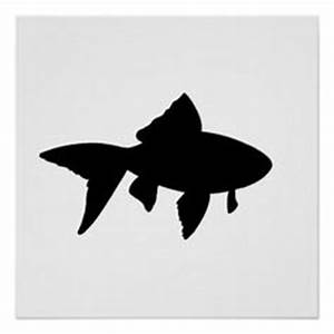 Goldfish Silhouette   Goldfish Gangsta   Pinterest ...