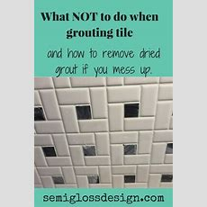 Don't Make These Mistakes While Grouting  Home