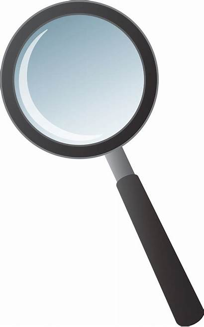Magnifying Glass Clipart Clip Transparent Background Silhouette