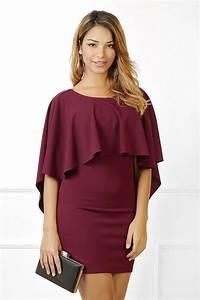 les 25 meilleures idees de la categorie robe bordeaux sur With robe femme bordeaux