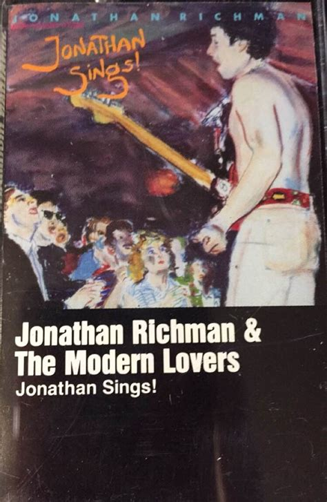 jonathan richman the modern used cassette jonathan richman the modern jonathan sings sire records vinylbay777