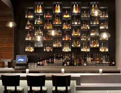 Bar Shelving Ideas by 10 Inspiring Restaurant Bars With Modern Flair Shelves