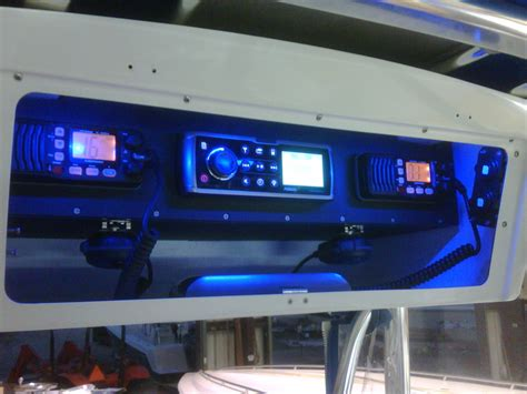 Small Boat Electronics by Glueing King Starboard The Hull Boating And