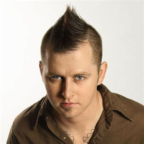 faux hawk haircuts  men   mens craze