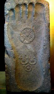 buddha 39 s foot print pictures pics images and photos for