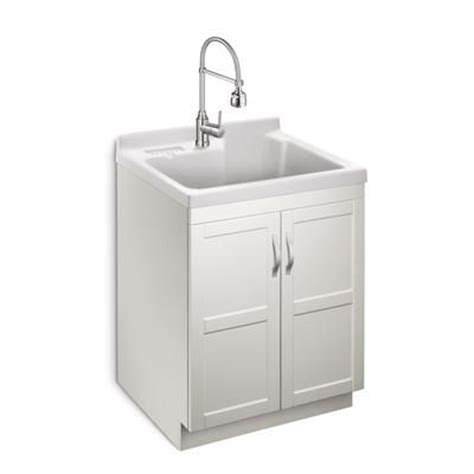 glacier bay laundry tub glacier bay deluxe all in one laundry cabinet ps 534