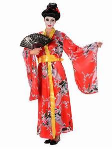 Geisha Kostüm Kinder : geisha kost m rot f r damen kost me f r erwachsene und g nstige faschingskost me vegaoo ~ Frokenaadalensverden.com Haus und Dekorationen