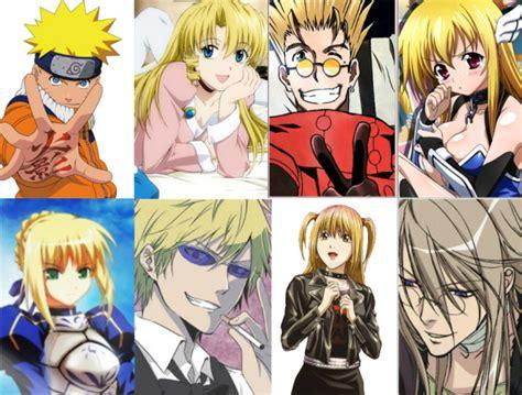 anime hair colors