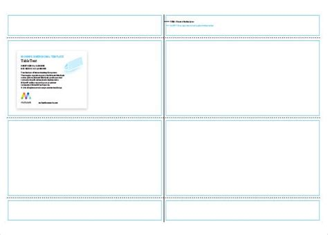 table tent template  printable table tent  card