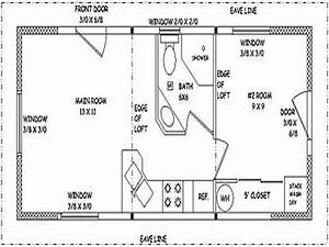 small guest house designs 16x22 small guest house plans With guest house plans and designs