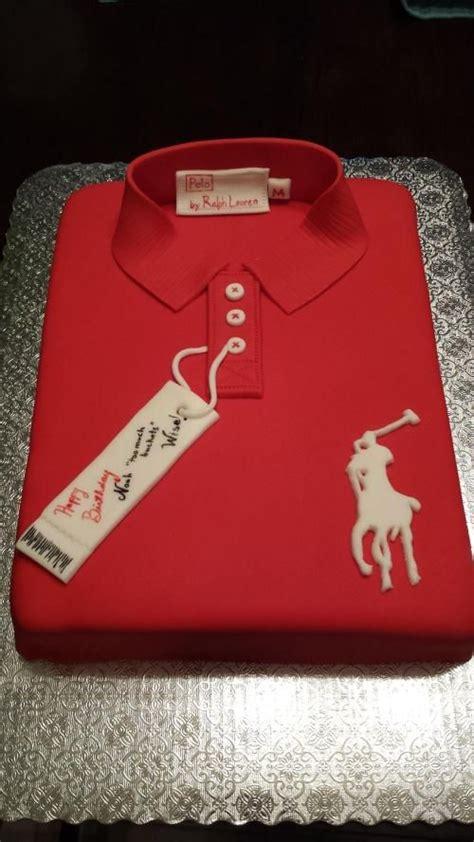 Polo Shirt Cake  Cake For Men  Fancy Cakes Pinterest