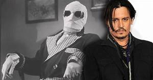 """Johnny Depp wordt Universal's Nieuwe """"Invisible Man ..."""