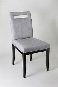 Contemporary Cut Out Back Dining Chair