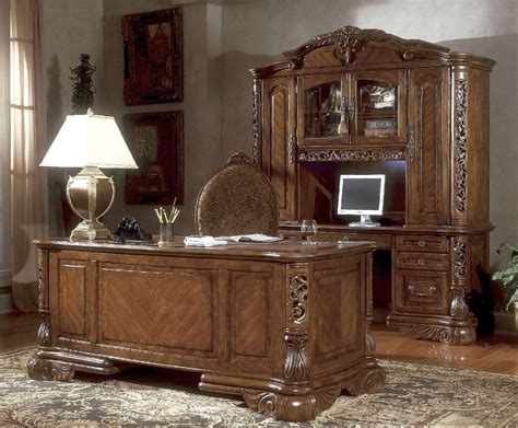 michael amini credenza excelsior home office in fruitwood by aico