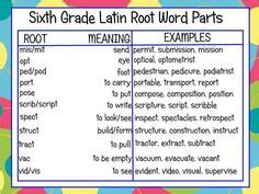 latin roots for teaching middle school vocabulary lesson ideas middle school schoolfy