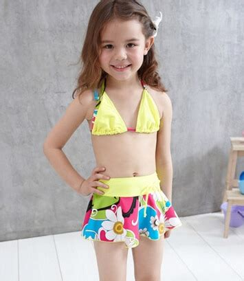 brand pink yellow children beach dress children girls
