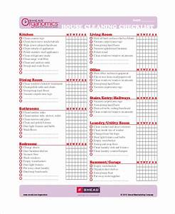 business cleaning checklist template pilotprojectorg With maid checklist template