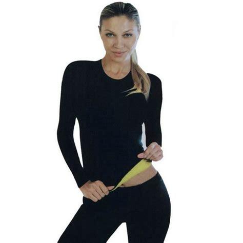 Hot Body Shapers Long Sleeve Waist Trainer Shirt Hot