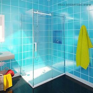 stunning fenetre salle de bain brico depot pictures With porte d entrée pvc avec model douche salle bain