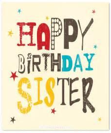 Happy Birthday Wishes Sister